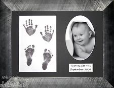 Newborn New Baby Unique Christening Gift Present Footprint Hand Feet Prints Kit