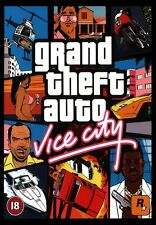 "GRAND THEFT AUTO (GTA) VICE CITY (PC DVD) "" NEW & SEALED"""
