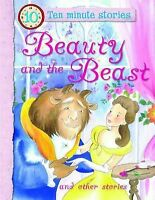 BEAUTY AND THE BEAST & other 10 min stories Children's Story Book CINDERELLA +