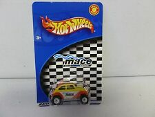 2002 Hot Wheels Mace Special Edition VW Baja Bug Yellow/Red