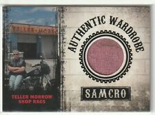 "TELLER MORROW SHOP RAGS ""RELIC/PROP CARD #P02"" SONS OF ANARCHY SEASONS 1-3 SP"