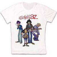 Gorillaz Band Virtual Rock Punk Hip Hop Retro Vintage Unisex T Shirt 1220