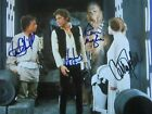 Harrison Ford / Carrie Fisher Autographed Signed 8x10 Photo( Star Wars ) REPRINT