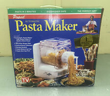 Popeil Automatic Electric Pasta Maker 12 Dies New Open Box Vintage 1993