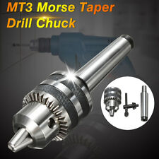 "1/2"" Heavy Duty Drill Chuck with MT3 Morse Taper Arbor 3MT 1-13mm For Mini Lathe"