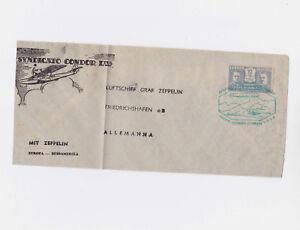 brazil 1933 zeppelin cover      l2210