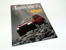2002 Land Rover Freelander Autovision Reprint Launch Preview Brochure
