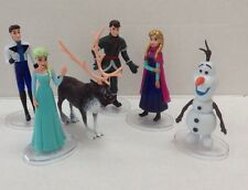 Disney Frozen character figure toys -cake topper- decoration- Set of Six