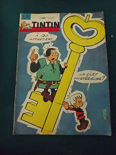 le journal de TINTIN N°754 de 1963 a qui appartient la clef mystérieuse