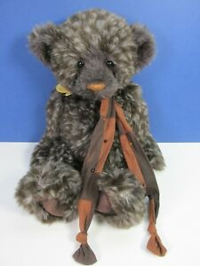 CHARLIE BEAR DASH SOFT PLUSH COLLECTION TOY figure TAGGED 2012 scarf 4839