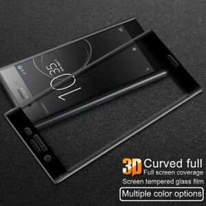 3D Full Cover Tempered Glass Screen Protector For Sony Xperia XZ XZs XZ Premium