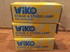 Vintage Wiko Stage Studio Lamp Bulb 750w 120V New Old Stock Lot Of 3
