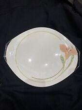 2 X Villeroy Boch IRIS Dinner Pie Cake Plate Large 36x30cm 1748 RARE Luxury