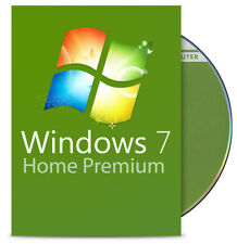 Windows 7 Home Premium 32 Bit - DVD + Aktivierungsschlüssel - Deutsch Win 7 Home