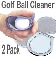 Golf Ball Cleaner Washer Towel 2 Pcs Reusable Keep Pocket Dry Golf Accessory