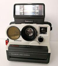 Polaroid Supercolor AutoFocus 3500 + Polatronic 5 Flash + Polaroid Bag!