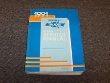 1991 Chevy G10 G20 G30 Van Shop Service Repair Manual 4.3L 5.0L 5.7L 6.2L V6 V8