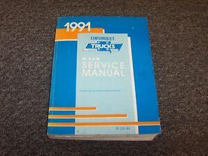 Repair Manuals Literature For Chevrolet G20 Van For Sale Ebay