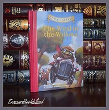 Wind in the Willows by Kenneth Grahame New Illustrated Collectible Hardcover