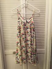 Beautiful! Audrey 3+1 White floral sundress size small