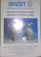 1990 Catalogue Di Vendita Illustrato (Volantino 3 Pagine) Brest Mobili