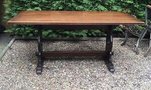 Jaycee oak refectory table
