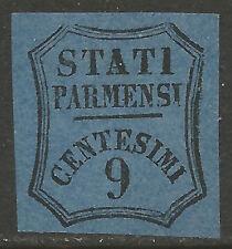 PRSG2a - DUCATO DI PARMA - Sassone segnatasse giornali # 2a (*SG) - 1.a scelta