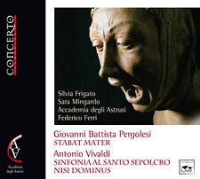 "Pergolesi: Stabat Mater - Vivaldi: Sinfonia """"Al Santo Sepolcro"""" & Nisi Dominus"