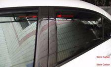 Carbon Fiber B Pillar Covers 4pcs For Honda Civic 2012-2014 4 Doors