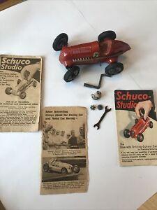 Schuco Studio 1050 Car + Tools + Leaflets