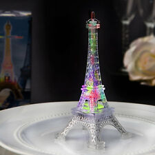6 Eiffel tower favor w/ Colorful Led Lights Paris Themed Wedding Favors Party