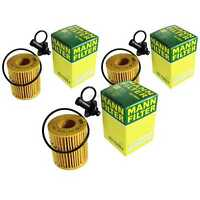 3 x MANN-FILTER Ölfilter Lexus IS III GSE3_ AVE3_ 250 II GSE2_ ALE2_ USE2_ 220 D