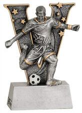"""6"""" V Series Resin Soccer Male Trophy  JDSV810"""