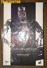 Ready! Hot Toys MMS352 Terminator Genisys Endoskeleton 1/6 Figure New