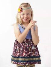 New Matilda Jane Girls SZ 8 Paint by Numbers Foldstone Sara Top Shirt Tunic