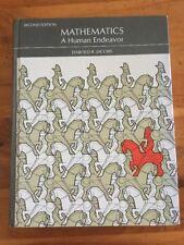 Mathematics : A Human Endeavor by Harold R. Jacobs Math Second Edition 2e. Text