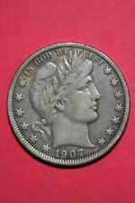 1907 D Barber Liberty Half Dollar Exact Coin Pictured Combined Shipping OCE 046