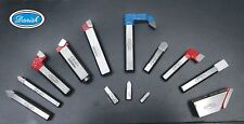 """6x Line Boring Tool Bits Lot 7 mm-8 mm V Type & Face 90 Degree up to 2"""" Long"""