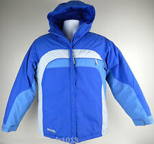 Columbia Tectonite Baby Blue Puffy Hooded WInter Coat Women's Med - Youth 14/16
