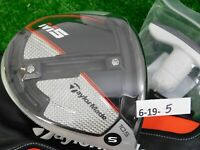 TaylorMade 2019 M5 10.5* Driver HZRDUS Smoke 6.0 Stiff Graphite w HC & Tool New