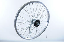 "20"" BMX COASTER HUB BRAKE REAR WHEEL IDEAL FOR CONVERSION  20 x 1.75 RIM NEW"