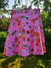 Get Cutie -  Rodeo print - Full bow skirt - size M - burlesque, pin up, cowgirl