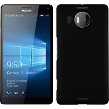 Hardcase für Microsoft Lumia 950 XL Hülle schwarz gummiert Cover