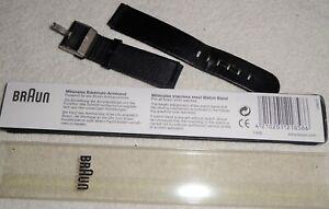 Uhrenarmband von BRAUN, Leder, benutzt, in kleiner Box, anschauen, 1,-