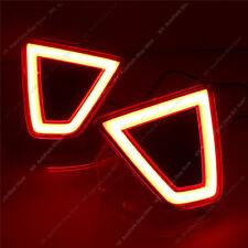 Lens LED Rear Bumper Light Fog Lamp Reflector o For Honda JAZZ FIT 2014-2017