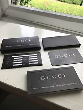Gucci 3900 Diamond Watch Booklet