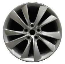 "19"" Tesla Model S 2012 2013 2014 2015 Factory OEM Cyclone Rim Wheel Silver"