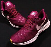 Nike Zoom Pegasus 35 True Berry Purple Running Shoes Size 9.5 Women's 942855-606