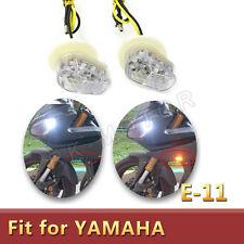 LED Clear Flush Mount Turn Signal Light  for Yamaha YZFR6 R1 FZ6R YZF600R YZF R3