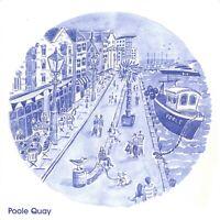 Large Size Art Postcard, Poole Quay, Dorset by Janine Drayson OS206